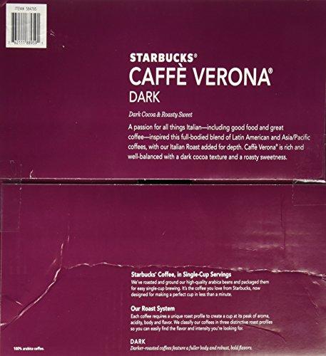 Starbucks Caffè Verona, Dark Roast, 108-Count K-Cups for Keurig Brewers by Starbucks (Image #3)