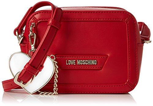 Rosso Love Moschino Pu Borsa Women Calf qI6Sw