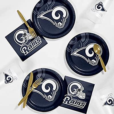 online store 3e30c 14ac9 Creative Converting Los Angeles Rams Tailgating Kit