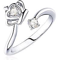 bigboba elegante anillo de las mujeres creativo elegante