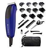 Remington HC5060 Lightweight Full Power Haircut Kit & Beard Trimmer, Hair Clippers for Men (22 pieces)