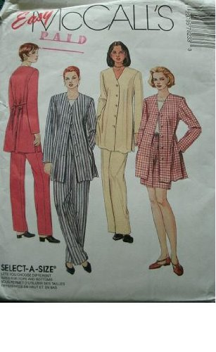 UPC 023795782333, Easy McCall's Pattern 7823 ~ Misses' Unlined Jacket, Top, Pull-on Pants and Pull-on Shorts ~ Size D (12, 14, 16)