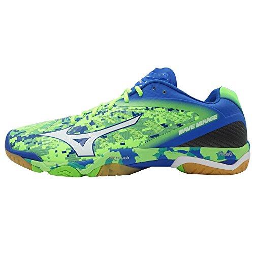 Chaussures Mizuno Wave Mirage vert/blanc/bleu