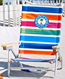 Rio Brands Tommy Bahama 5 Position Aluminum Beach Chair (Multicolored Stripes)