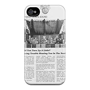 Shock Absorption Hard Phone Case For Iphone 4/4s (NUA18465VusE) Support Personal Customs Lifelike Grateful Dead Skin