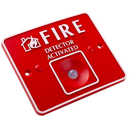 UHPPOTE Remote LED Fire Detector Activated for Conventional Fire Alarm Control Panel