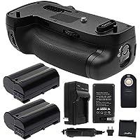 Battery Grip Bundle F/ Nikon D750: Includes MB-D16 Replacement Grip, 2-Pk EN-EL15 Replacement Long-Life Batteries, Charger, UltraPro Accessory Bundle