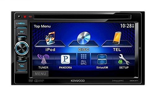 "New Kenwood DDX-371 6.1"" In-Dash 2-DIN CD/DVD/MP3 Car Stereo"