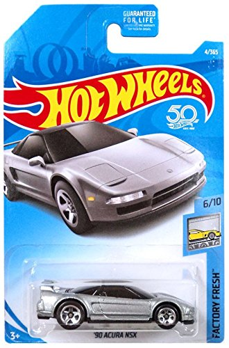 Hot Wheels 2018 50th Anniversary Factory Fresh '90 Acura NSX 4/365, - Hot Nsx Acura Wheels
