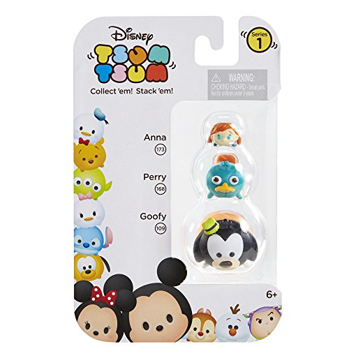 Tsum 3 Pack Figures Goofy Perry