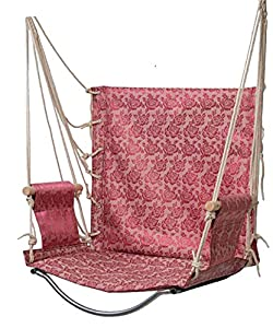 Voloer hanging rope hammock chair swing seat for Indoor hanging rope chair