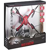 Propel VL-3591 Maximum X15 Hybrid Stunt Drone With Hd Camera - Red
