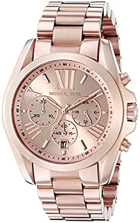michael kors roman numeral watch mk5503 rose. Black Bedroom Furniture Sets. Home Design Ideas