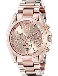 Roman Numeral Watch MK5503 Rose Gold