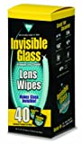Image of Invisible Glass Lens Cleaning Wipes - 40 count, 90101