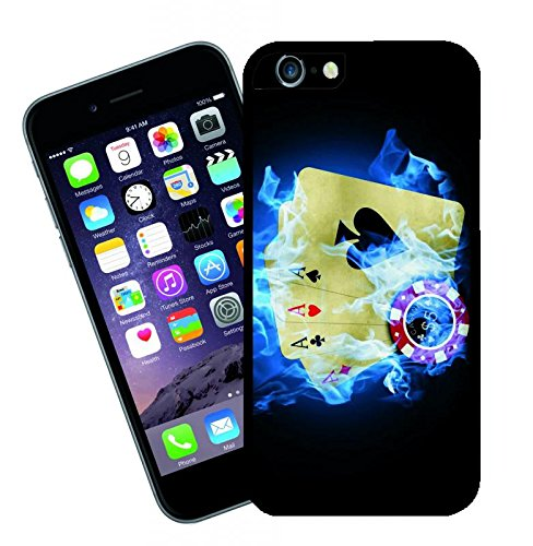 Poker - This cover will fit Apple model iPhone 7 (not 7 plus) - By Eclipse Gift Ideas
