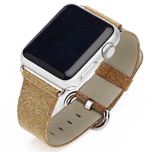 iitee Glitter Replacement Leather Bracelet