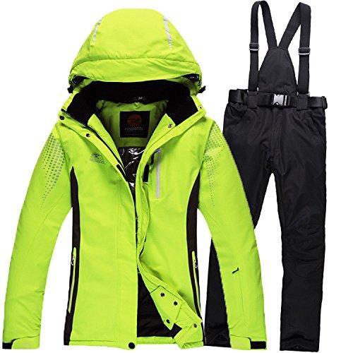 Dyf Giacca Antivento Caldo Sci Fym Cappotto Uomini Giacche Pantaloni Impermeabile Donne Verde Tuta Da Nero Cerniera xR1BnHq