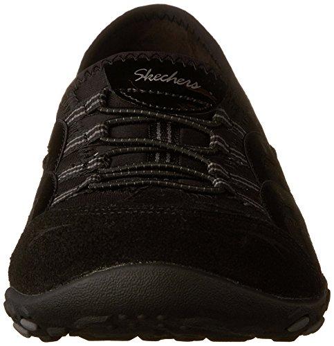 Black Easy Atmen Relaxed Skechers Sneaker Mantra Frauen Sie Fit qSvf87