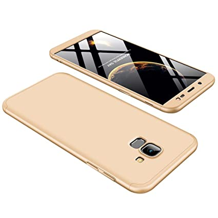 8863ae016f9 Bigcousin Samsung Galaxy J6 2018 Case, 360 Degrees Full Body Protection  Ultra-Thin Case