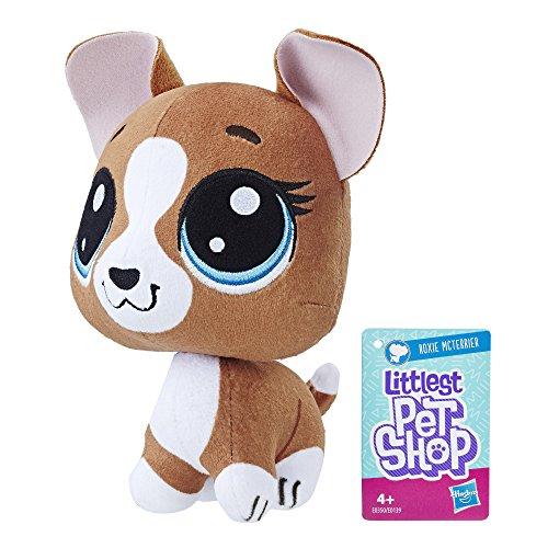 Littlest PetShop-Plush Head dodeline Roxy 15cm, ()