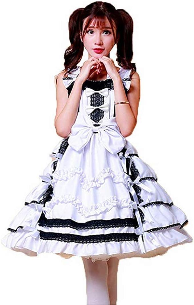 Disfraz De Lolita Cosplay para Mujer Anime Japonés Danza ...
