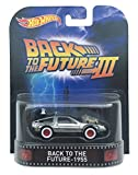 Back to the Future - 1955 Time Machine 'Back to the Future Part III' Hot Wheels 2015 Retro Series 1/64 Die Cast Vehicle
