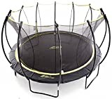 SkyBound Stratos 12 Foot Trampoline with Updated Safety Net & Top Ring for 2018 - Exceeds ASTM Safety Rating Construction - Built to Last