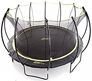 SkyBound Stratos 15 Foot Trampoline with Updated Safety Net & Top Ring for 2018 - Exceeds ASTM Safety Rating Construction - Built to Last
