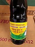 5 gallon soy sauce - Golden Mountain Soybean Seasoning Sauce 20 Oz (12 Pack)