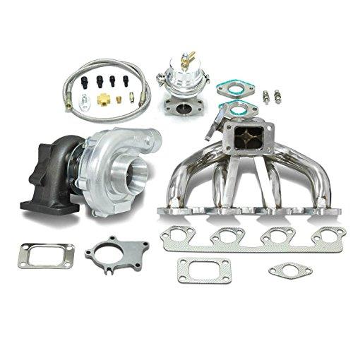 High Performance Upgrade T04E T3 5pc Turbo Kit - Ford 2.3L/2.5L I4 DOHC Engine