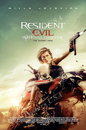 Posters Usa   Resident Evil Bio Hazard The Final Chapter Movie Poster Glossy Finish   Mov478  16  X 24   41Cm X 61Cm