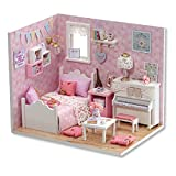 Furniture DIY Miniature Dust Cover 3D Wooden Miniaturas Dollhouse Toys