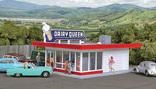 Walthers, Inc. Vintage Dairy Queen Kit, 5-1/16 x 3-1/2 X 2-3/8