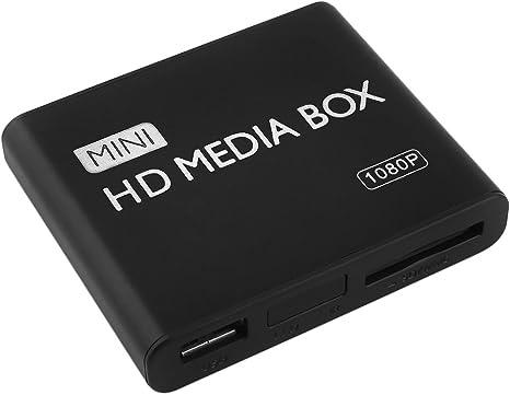 Multi Media Player 1080P USB SD MMC HD MKV AV HDMI Video Audio Digital Black !