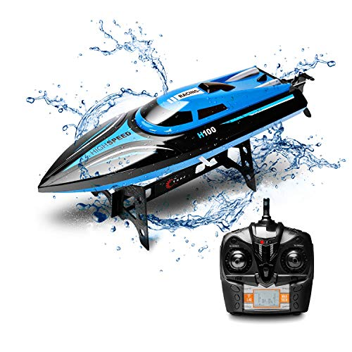 RC Boat DeXop-KINGBOT Rmote Control Boat for Pools & Lakes