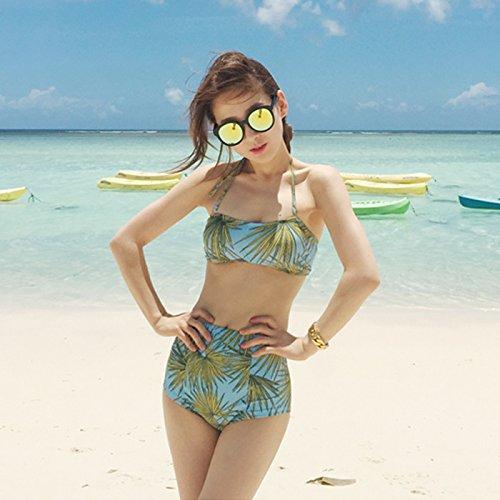 YUPE Hot spring Badeanzug Bikini triangel Badeanzug mit hoher taille Frau
