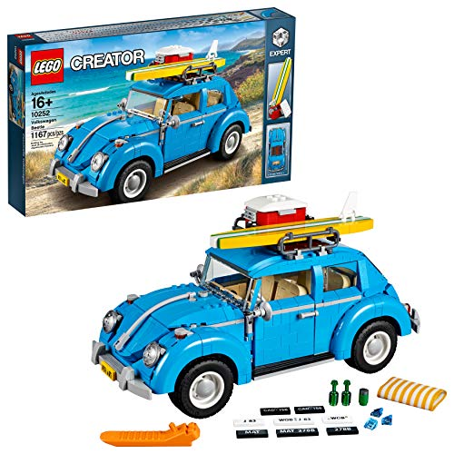 LEGO Creator Expert Volkswagen Beetle 10252 Construction Set (1167 Pieces) (Vw Level)