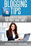 Blogging Tips, Donald Taylor, 1496178424