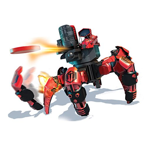 Combat Creatures Attacknid MK1 Battling Spider Toy Robot with Remote Control, Ultra Controllable Disc-Firing Weapon System, 6-Legged Robotics with Advanced All-Terrain Handling by Combat Creatures (Image #5)