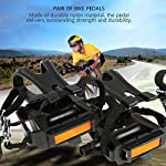Aigend-Pedali-per-Bici-Pedale-Ibrido-con-Gabbia-e-Cintura-Pedali-per-Bici-da-Fitness-Spinning-Bike-e-Mountain-Bike