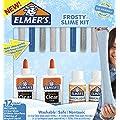Elmer's Pegamento líquido escolar con plumas de Glitter y…