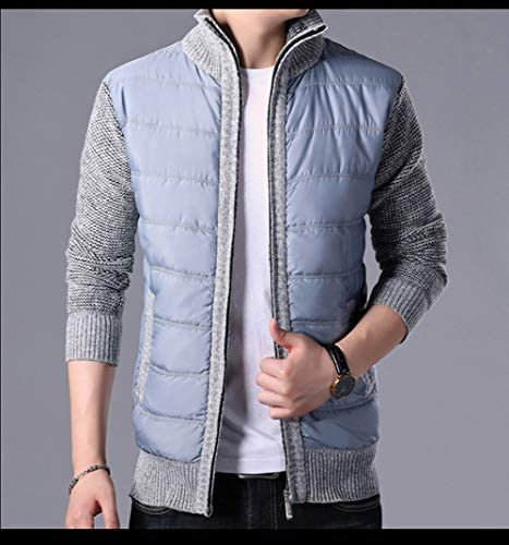 チーアン Tiann メンズ カーディガン セーター ダウンジャケット ジャケット パーカー スタジャン ニット 綿