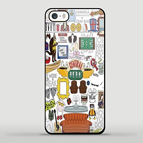 Price comparison product image Central Perk Friends Fan Art for Iphone and Samsung Case (iphone 5c black)