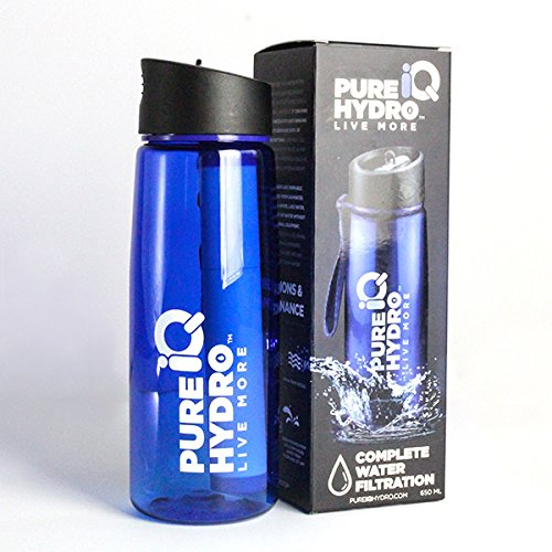 charcoal filtered water bottle - 9