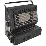 Highlander Outdoor Compact Gas Heater, Black