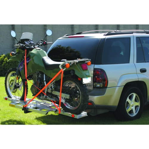 400 Lb. Aluminum Hitch Receiver-mount Motorcycle Carrier Fits Any 2
