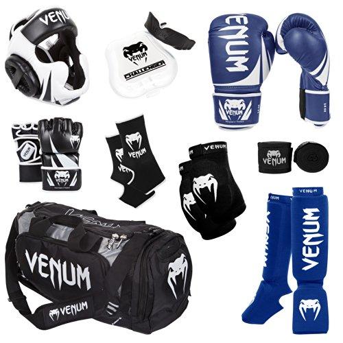 Venum Challenger 2.0 MMA Training Bundle, Blue