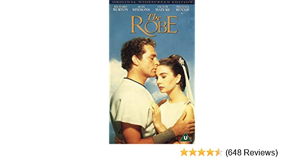 15f98f7a2418 Amazon.com  The Robe  VHS   Richard Burton