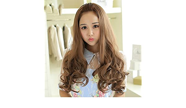 Amazon.com : Suuny Queen Harajuku Light brown Wig Pelucas Pelo Curly Natural Synthetic Wigs Heat Resistant Halloween Perruque Anime Cosplay Wigs Manic Panic ...